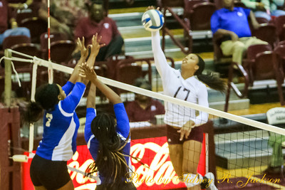 AAMU 2016 Volleyball vs Tennessee State