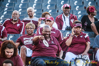 AAMU 2018 Football vs Cincinnati Band Fans and Friends