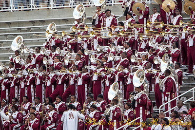AAMU 2013 Louis Crews Classic The Band and Fans
