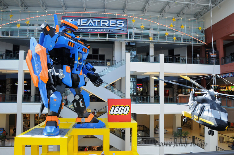 Lego exhibit at the Mall of the Americas