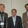 Historical Astronomy Division (HAD) IV speakers included Anthony Hull (University of New Mexico), Joseph S. Tenn (Sonoma State University), and Vance Tiede (Astro-Archaeology Surveys). Photo by Wayne Osborn.