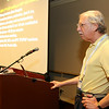 The AAS's newest Division, the Laboratory Astrophysics Division (LAD), held its annual business meeting in Boston, led by LAD chair Steven Federman (University of Toledo). AAS photo © 2014 Joson Images.