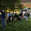 On Tuesday evening AAS member Jason Kendall (William Paterson University) and several Boston-area amateur astronomers set up telescopes on Boston Common to give passersby close-up views of the Moon, Mars, and Saturn. AAS photo © 2014 Joson Images.