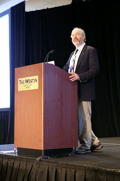 "Last but not least among the plenary speakers in Boston, Steven D. Kawaler (Iowa State University) gave the final plenary talk, ""The Kepler Mission's 'Other' Legacy: The Coming of Age of Space-based Asteroseismology,"" before lunch on Thursday. AAS photo © 2014 Joson Images."