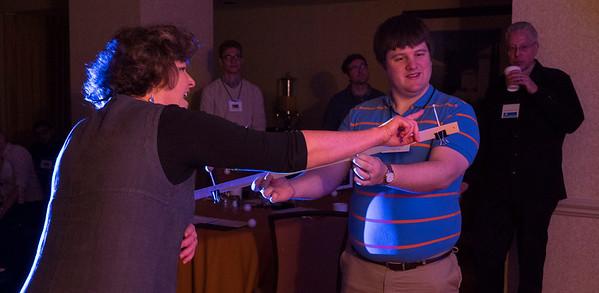 Attendees work together - AAS Astronomy Ambassador Workshop