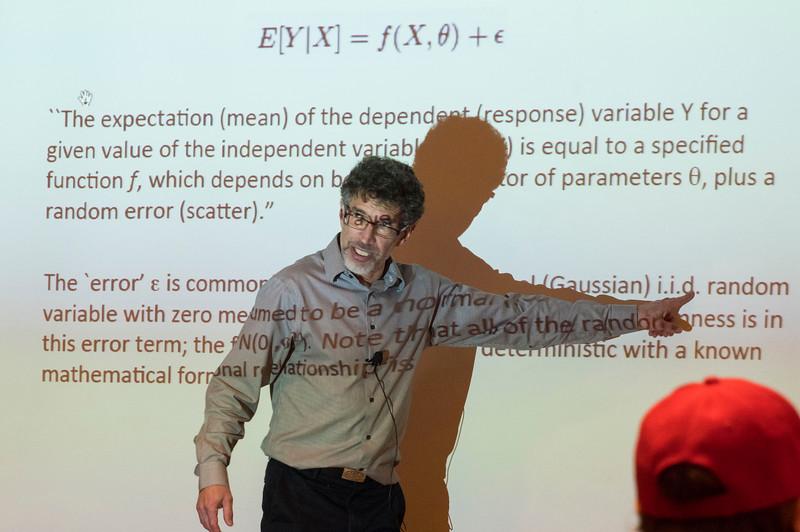 Attendees  - Astrostatistics and R workshop