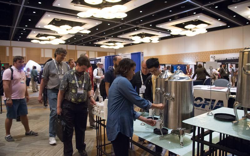 Attendees - Wednesday morning Coffee Break