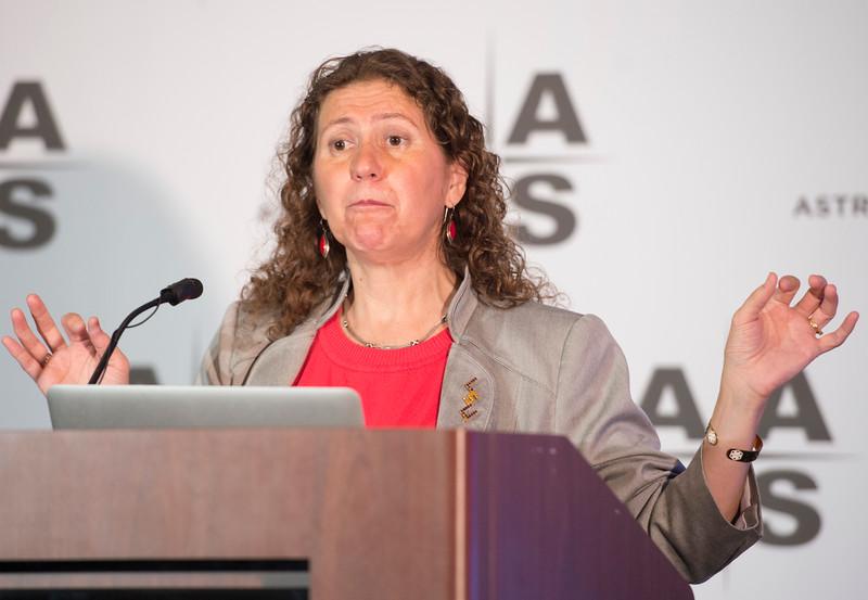 Gabriela Gonzalez - Press Conference: The Latest News from LIGO