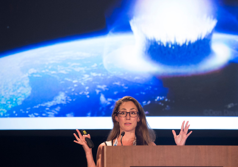 Speakers and attendees - MAVEN Observations of Atmospheric Loss at Mars, presented by Shannon Curry