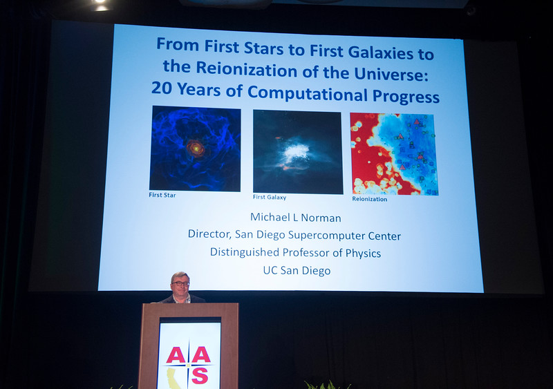 Speakers and attendees - From the First Stars and Galaxies to the Epoch of Reionization: 20 Years of Computational Progress, presented by Michael Norman