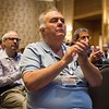Attendees listen to Christopher Glein - The Ocean World Enceladus