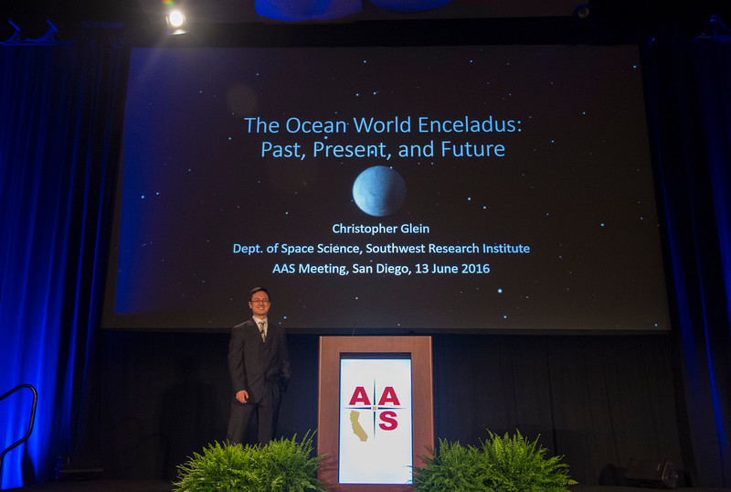 The Ocean World Enceladus, presented by Christopher Glein -