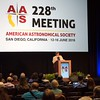 Attendees  - Welcome Address by AAS President Meg Urry