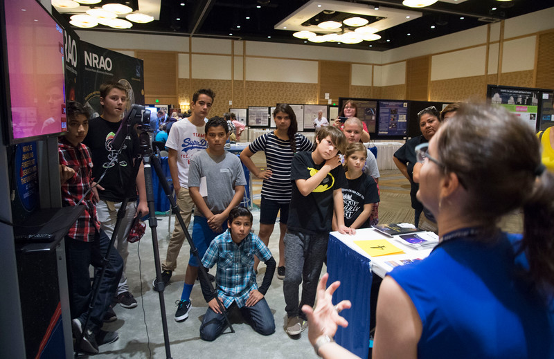 Attendees - Local Student Education and Outreach Event, Student Welcome by Shelley Wright