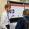 Presenters & Chambliss Poster presenters during Poster Sessions
