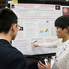 Attendees in the exhibit hall - Poster Session