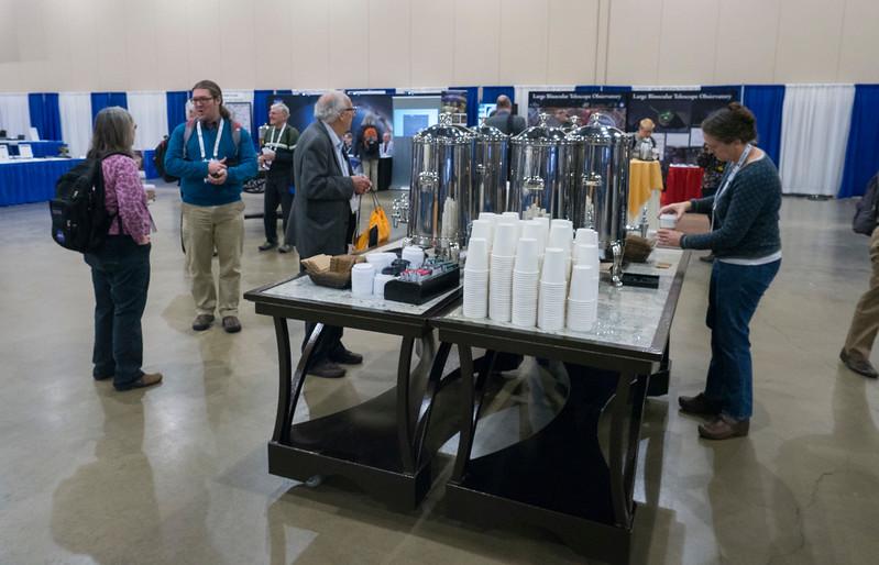Attendees during Coffee Break