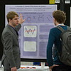 Attendees during Poster sessions