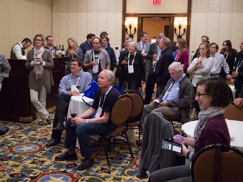 Attendees during AAS Agents Reception