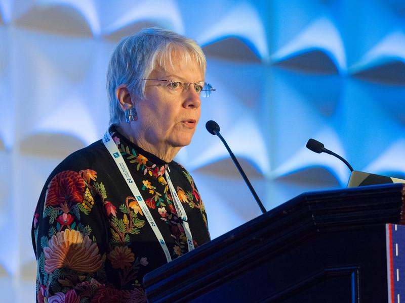 Jill Tarter during Plenary Lecture