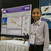 Cannan Huey-Yu (11 year old poster presenter) during Poster Session