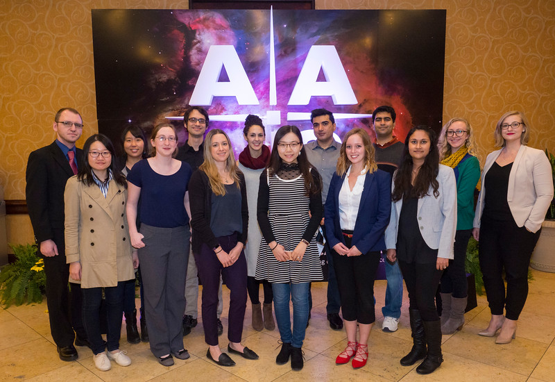Doxsey Prizewinners Group Photo during AAS Marquis
