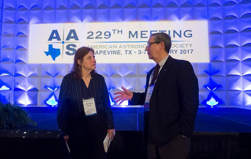 AAS President Christine Jones during Welcome Address