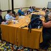 Journalists during Pressroom