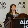Julia Zachary (Wesleyan Univ) during Press Conference: Stars & Interstellar Space