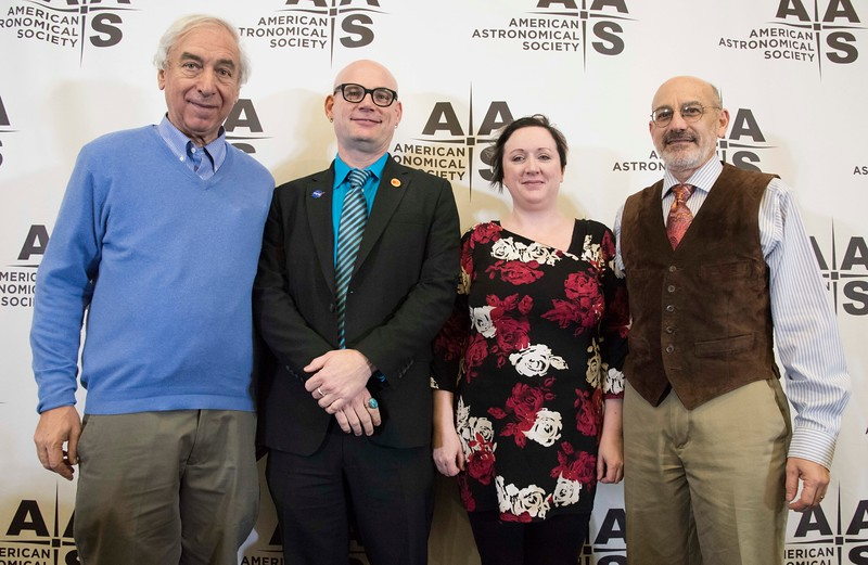 Jay M. Pasachoff, C. Alex Young, Angela Speck and Rick Fienberg - afternoon Press Conference