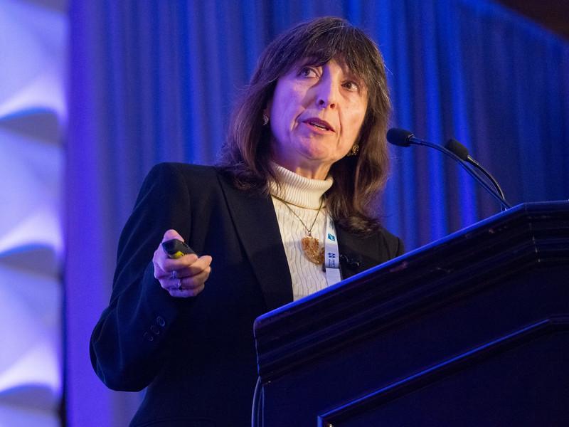 Wendy Freedman during Heineman Prize Talk