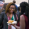 Attendees during Opening Reception