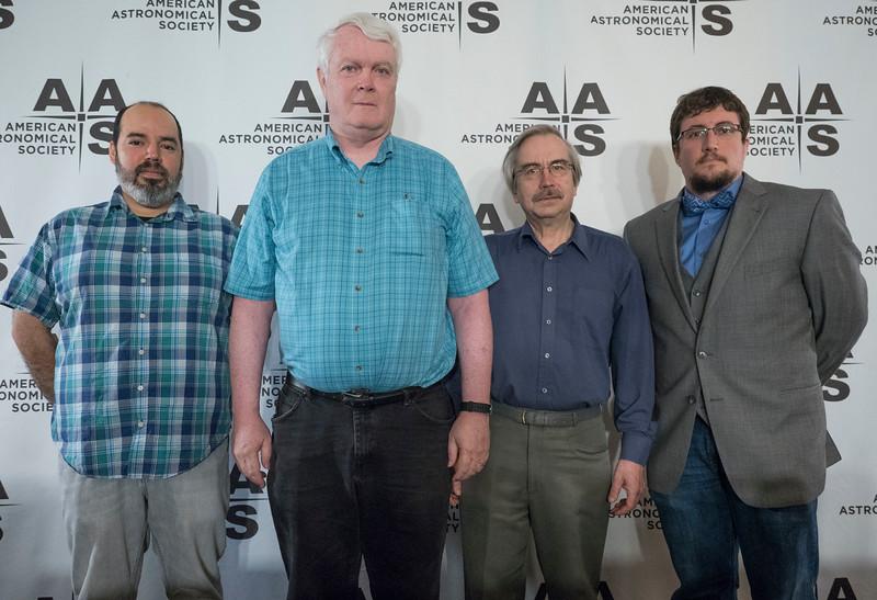 Rodolfo Montez, Thomas Kirkman, Lorne Nelson and Chase Million - Tuesday AM Press Conference