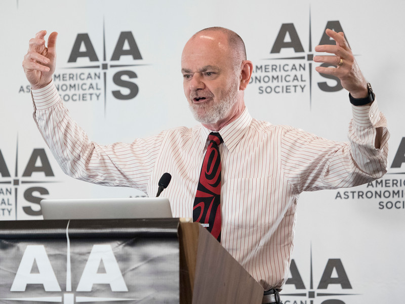 Ethan T. Vishniac - Monday AM Press Conference