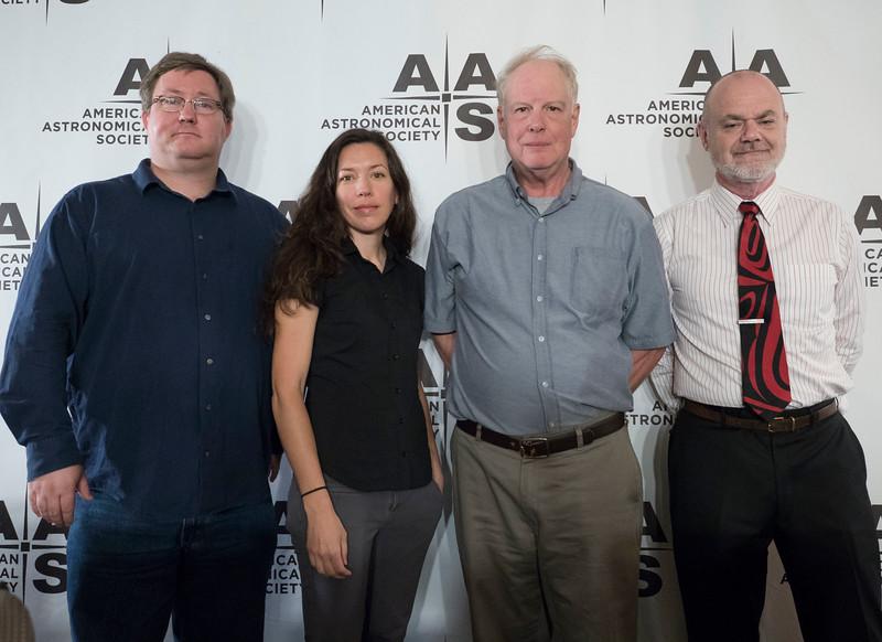 Richard O'Shaughnessy, Stephanie Juneau, Chris Shrader and Ethan T. Vishniac - Monday AM Press Conference
