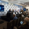 Speakers and attendees - Monday AM Press Conference
