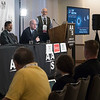 Speakers and attendees - Wednesday morning Press Conference