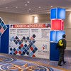 Attendees and exhibitors - Tuesday Exhibit Halls