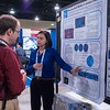 Attendees and Chambliss Poster presenters chat - Poster Session