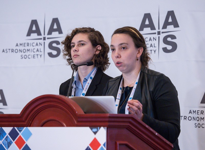 Rachel Beaton speaks - Press Conference: An Alphabet Soup of Science from SDSS (APOGEE/eBOSS/MaNGA)