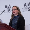 Karen Masters speaks - Press Conference: An Alphabet Soup of Science from SDSS (APOGEE/eBOSS/MaNGA)