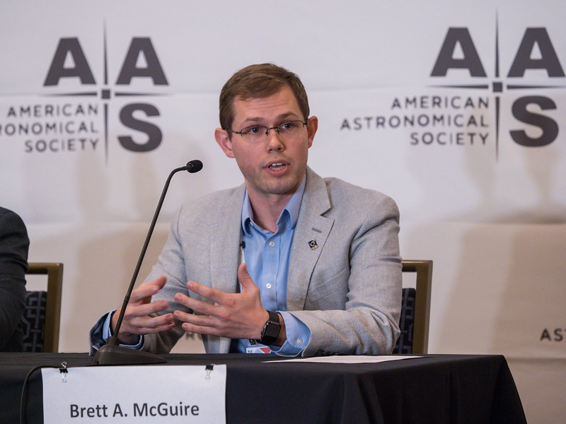 Brett A. McGuire speaks - Press Conference - From Molecules to Disks to Planets