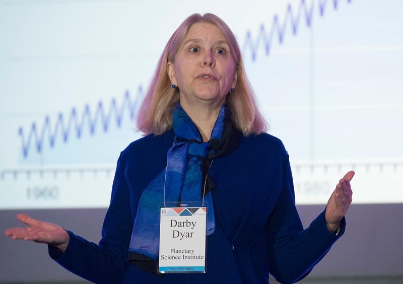Venus: Our Misunderstood Sister, Darby Dyar