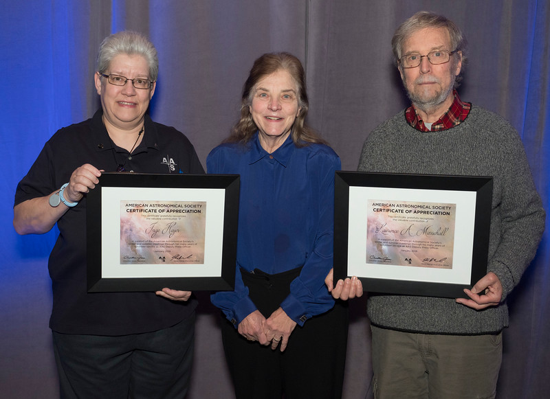 Award recipients  - AAS award recipients