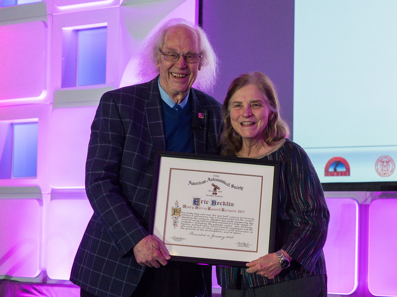 Henry Norris Russell Lectureship: Fifty-four Years of Adventures in Infrared Astronomy, Erick Becklin