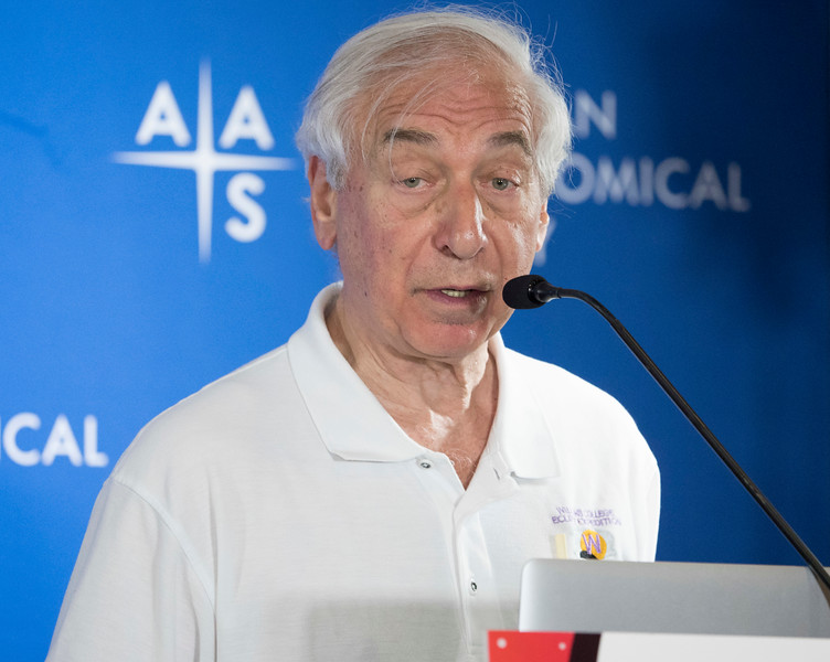 Jay Pasachoff - Wednesday Morning Press Conference
