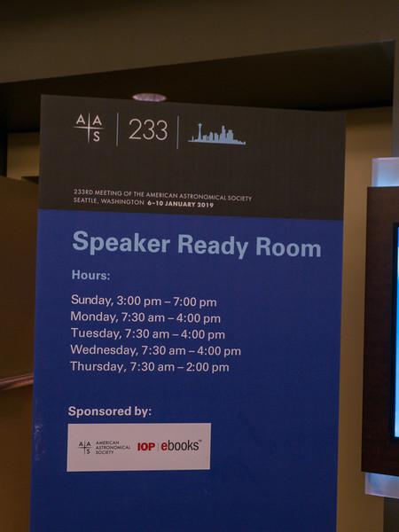 Speakers - Speaker Ready room