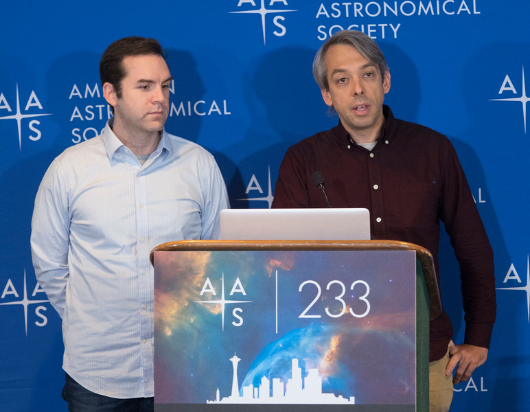 Thayne Currie and Olivier Guyon - Press Conference: Exoplanets and Life Beyond Earth