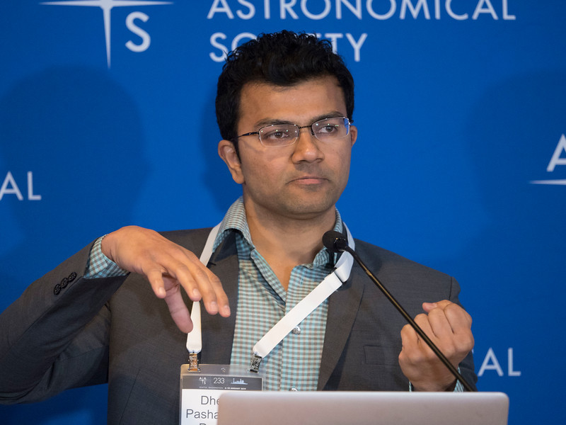 Dheeraj Pasham - Press Conference- Black Holes and Galaxies Near & Far