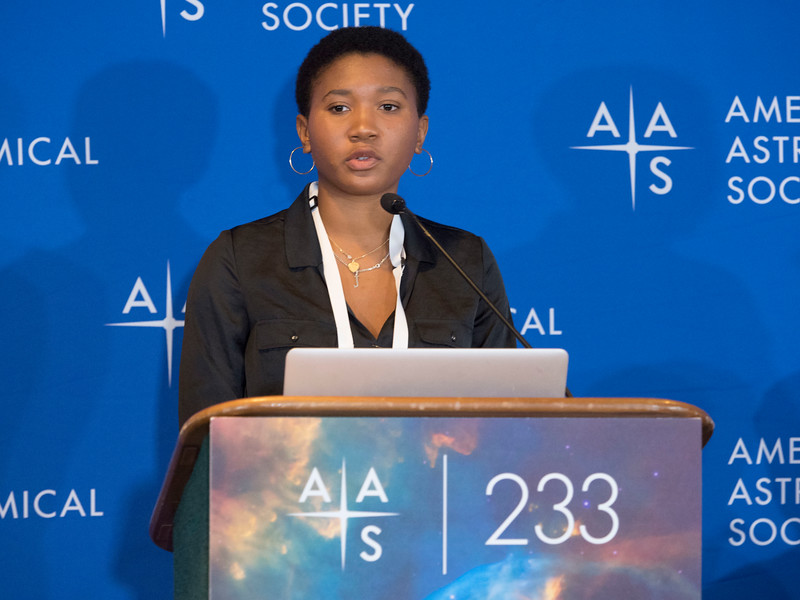 Amalya Johnson - Press Conference- Black Holes and Galaxies Near & Far